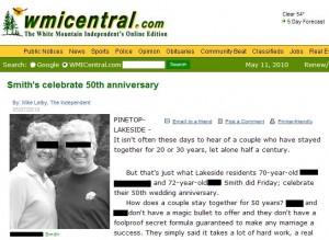 Smith's celebrate 50th anniversary